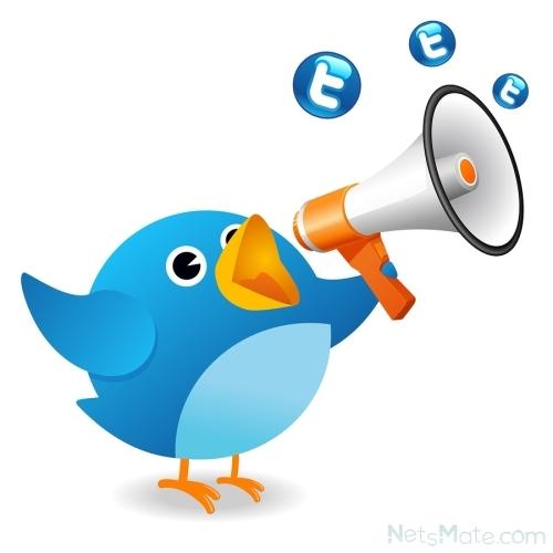 Символ Твиттера - щебечущая голубая птичка