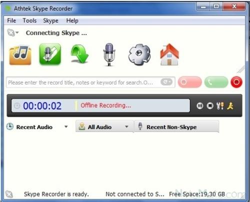 Athtek Skype Recorder