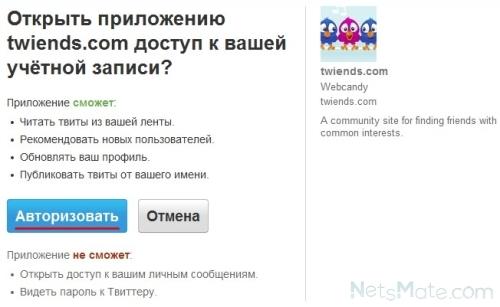 """Нажимаем на """"Авторизировать"""""""