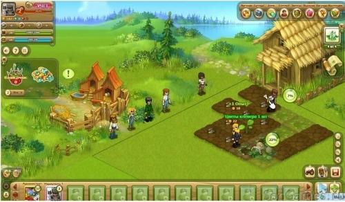 Интерфейс игры Любимая ферма