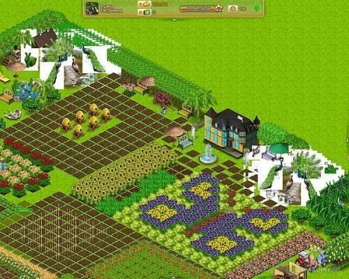 Интерфейс игры Территория фермеров