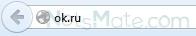 Адрес сайта в строке браузера