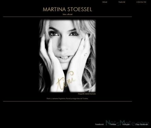 Сайт Мартины Штоссель