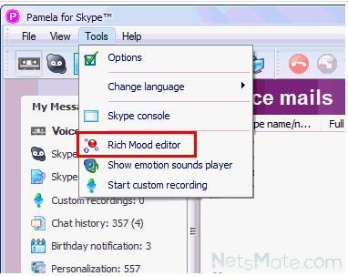 Rich Mood Editor