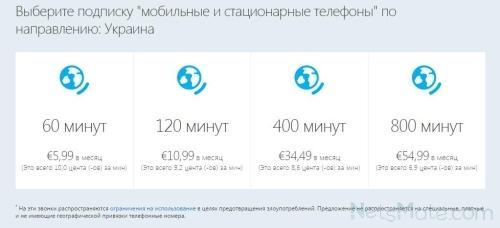 Мобильные и стационарные для Украины